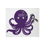 EDS Octopus Throw Blanket