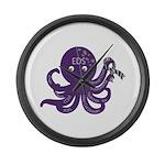 EDS Octopus Large Wall Clock