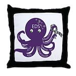 EDS Octopus Throw Pillow