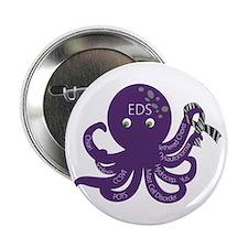 """EDS Octopus 2.25"""" Button"""