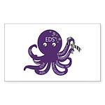 EDS Octopus Sticker (Rectangle 10 pk)