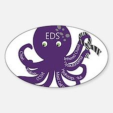 EDS Octopus Sticker (Oval)