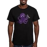 EDS Octopus Men's Fitted T-Shirt (dark)