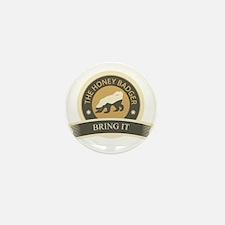 Honey Badger Bring It Mini Button (10 pack)