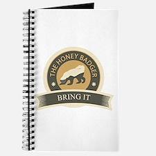 Honey Badger Bring It Journal