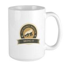 Honey Badger Bring It Mug
