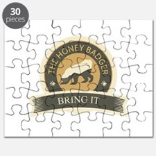 Honey Badger Bring It Puzzle