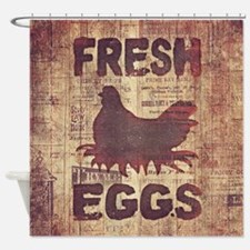 Fresh Eggs Shower Curtain
