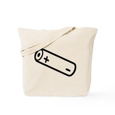 Battery symbol Tote Bag