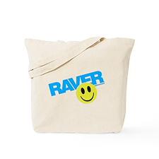 Raver Smilie Tote Bag