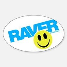 Raver Smilie Decal