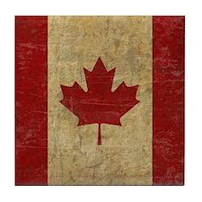 Vintage Canada Tile Coaster