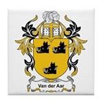 Van Der Aar Coat of Arms Tile Coaster