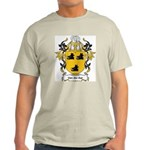 Van Der Aar Coat of Arms Ash Grey T-Shirt