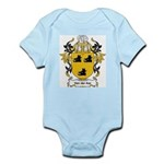 Van Der Aar Coat of Arms Infant Creeper