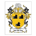 Van Der Aar Coat of Arms Small Poster