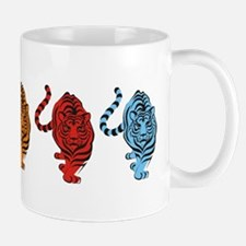 Five Tigers Icon Mug