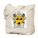 Van Der Aar Coat of Arms Tote Bag