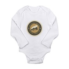 Honey Badger Long Sleeve Infant Bodysuit