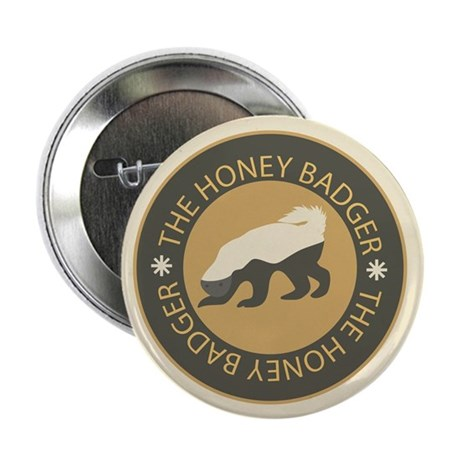 "Honey Badger 2.25"" Button (10 pack)"