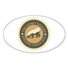 Honey Badger Stickers