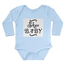 Skye BABY Long Sleeve Infant Bodysuit