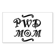 PWD MOM Decal