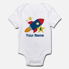 1st Birthday Rocket Infant Bodysuit