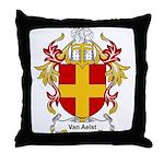 Van Aelst Coat of Arms, Famil Throw Pillow