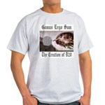 The Creation of D20 Ash Grey T-Shirt