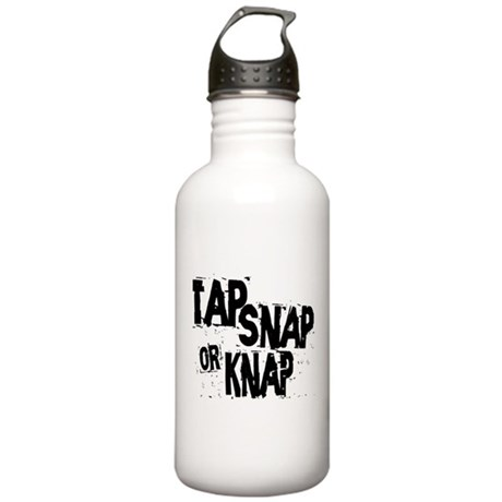 Tap, Snap or Knap Stainless Water Bottle 1.0L