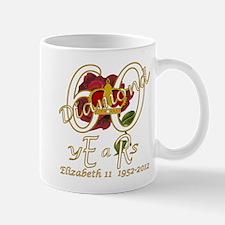 Queen Elizabeth 60 diamond years jubilee Mug