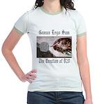 The Creation of D20 Jr. Ringer T-Shirt