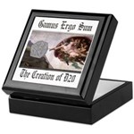 The Creation of D20 dice or trinket Keepsake Box