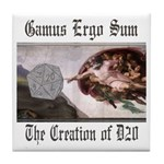 The Creation of D20 Tile Coaster