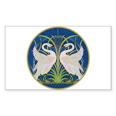 The Swans Sticker (Rectangle 10 pk)
