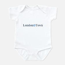London Town (blue) Infant Bodysuit
