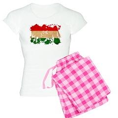 Hungary Flag Women's Light Pajamas