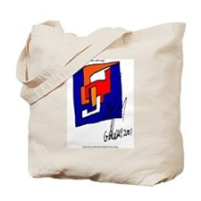The Cubist Man or The Cube.... Tote Bag