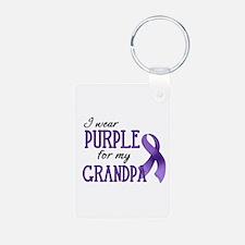 Wear Purple - Grandpa Keychains