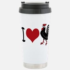 I Heart Cock Stainless Steel Travel Mug