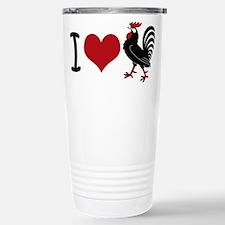 I Heart Cock Travel Mug