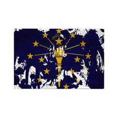 Indiana Flag Rectangle Magnet
