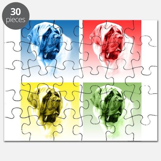 Mastiff Pop (smooth) Puzzle