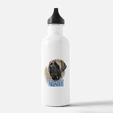 Mastiff(fawn)Name Water Bottle