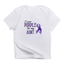 Wear Purple - Aunt Infant T-Shirt