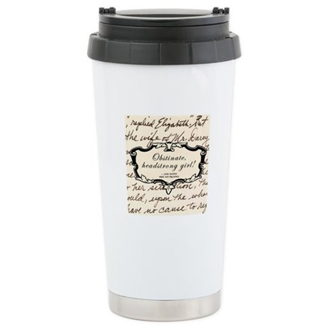 Elizabeth Bennett Stainless Steel Travel Mug