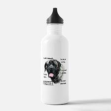Mastiff(brindle)FAQ Water Bottle