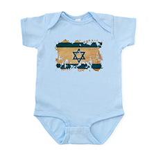 Israel Flag Infant Bodysuit