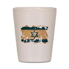Israel Flag Shot Glass